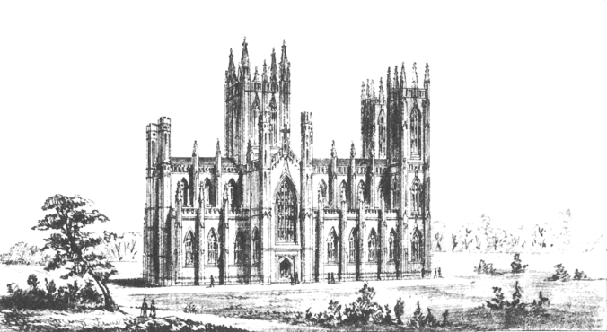 St Patrick's Cathedral, Armagh as originally designed by Thomas Duff