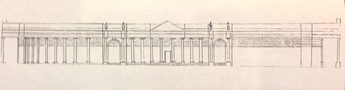 Reconstruction of Foulston's lost proposal for the South front of the Bank of Ireland (Gregory McAteer)