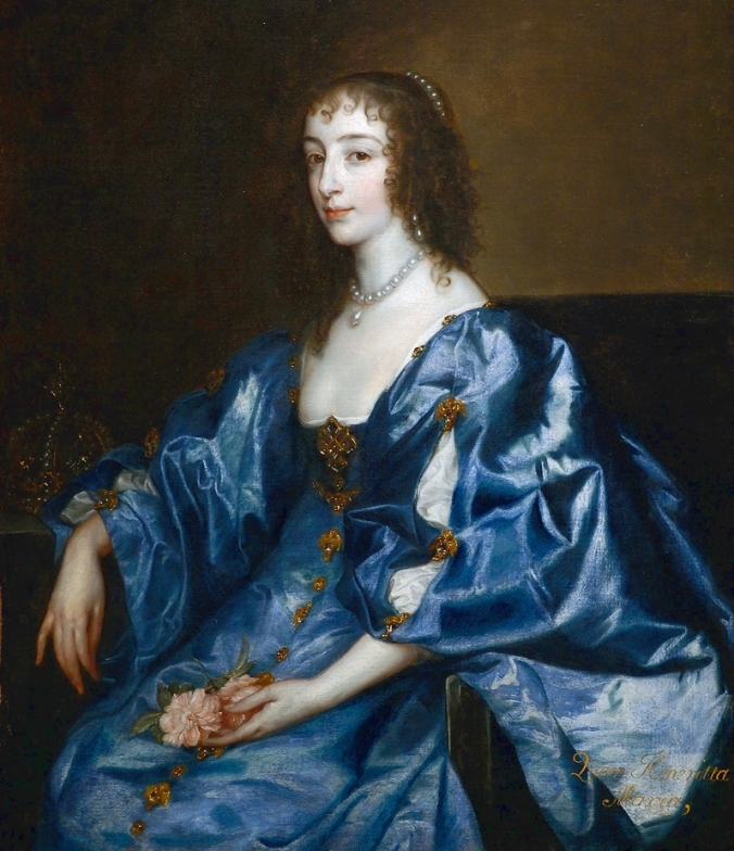 After van Dyke, Henrietta Maria of France.