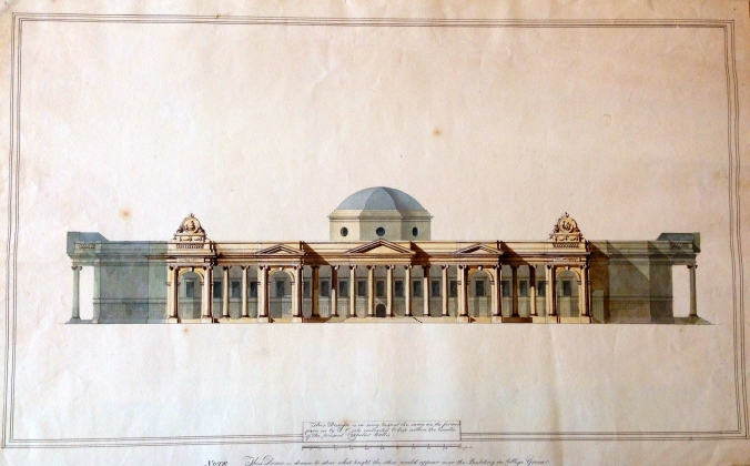 Henry Aaron Baker, Proposed South Front for the Bank of Ireland.