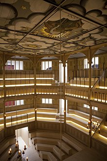 sam wanamaker playhouse interior