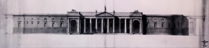 Joseph Henry Good, proposal for the South Front of the Bank of Ireland.