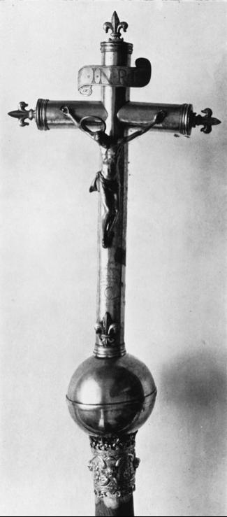 Processional Cross of Catherine de Bragança (Fundação da Casa de Bragança  Museu-Biblioteca da Casa de Bragança, Vila Viçosa)