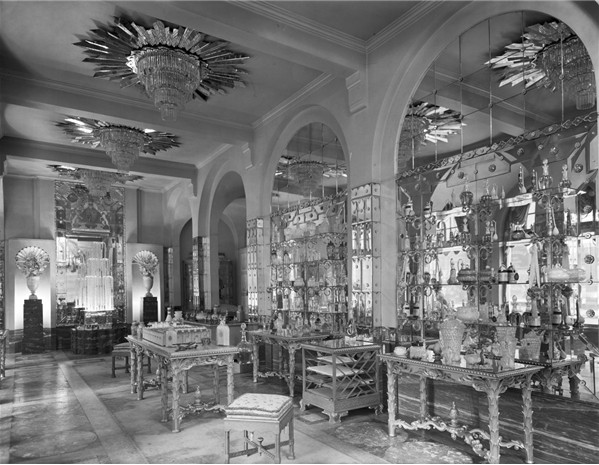 Interior as completed in 1926.