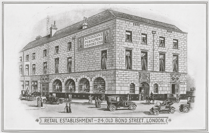 Atkinson's Warehouse, Old Bond Street, 1832-1925