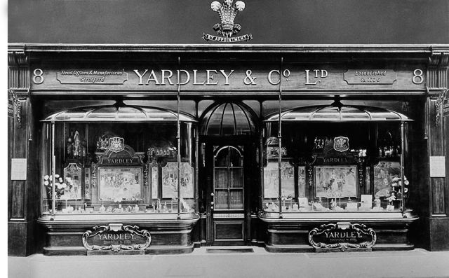 Yardley's emporium at 8 New Bond Street.