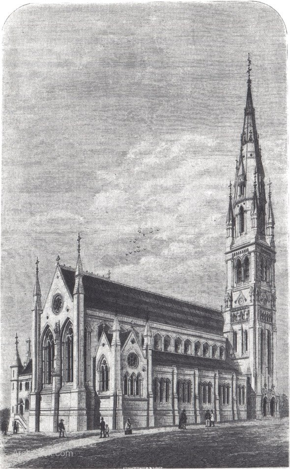Church of St Patrick, Dungannon, 1871.