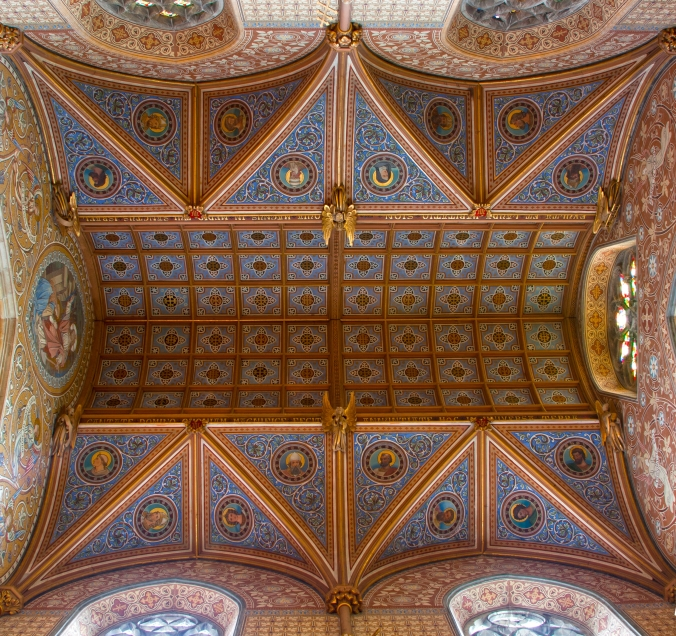 Ceiling over the Lady Chapel, Oreste Amici, 1900-1904.