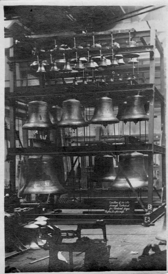The Carillon of Bells commissioned by Cardinal Logue, 1924.