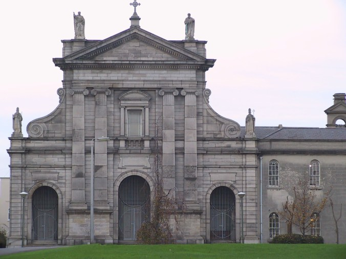 Chapel, Holy Cross College, Clonliffe, 1873.