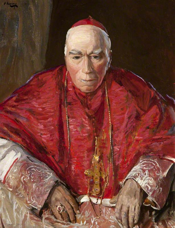 Michael, Cardinal Logue (1840-1924) by Sir John Lavery (1856-1941), 1920.