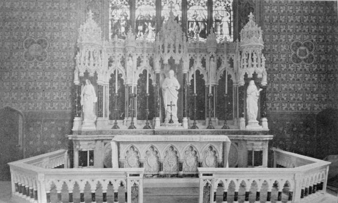 Sacred Heart Altar.