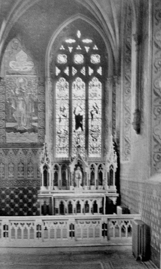 St Brigid's Altar.