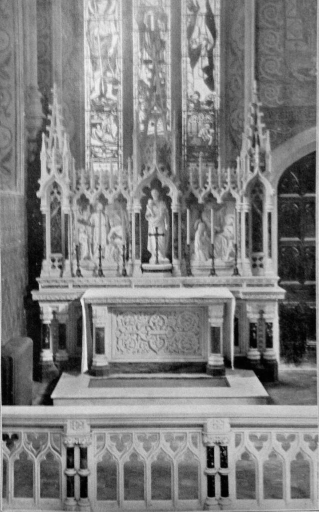 St. Joesph's Altar.
